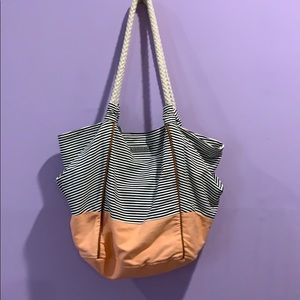Roxy fabric canvas tote bag